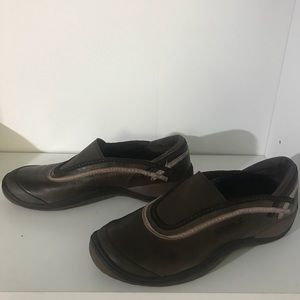 Merrell Willow slip ons Brown/Pink Size 7.5 EUC